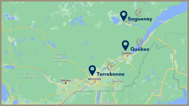 Google Maps – Image site – contour or